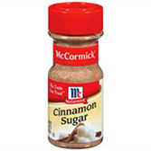 McCormick Cinnamon Sugar -3.62 oz