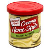 Duncan Hines Creamy Home-Style Lemon Supreme-16 oz