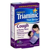 Triaminic Childrens Cough And Runny Nose Grape Thin Strips - 14