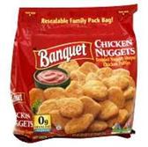 Banquet Chicken Breast Nuggets -26 oz