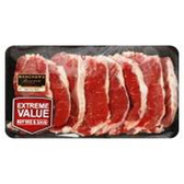 Beef New York Strip Steak Boneless Thin - 2LB