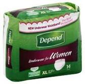 Depend Underwear For Women XL - 14 Count