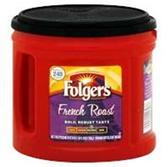Folgers French Roast Coffee - 27.8 oz