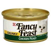 Fancy Feast Cat Food Chunky Chicken - 3 Oz