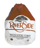 River Side Frozen Young Whole Turkey - 13 lb
