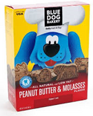 Blue Dog Bakery Low Fat Treats Peanut Butter & Molasses -20oz
