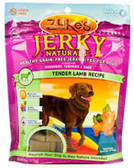 Zukes Jerky Natural Tender Lamb Recipe Dog Treats-6oz