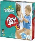 Pamper's Boys Easy Ups 2T - 3T -26ct