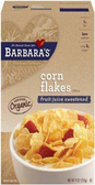 Barbara's Corn Flakes - Fruit Juice Sweetened -9oz