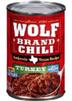 Wolf Turkey Chili No Beans, 15 OZ