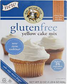 King Arthur Gluten Free Yellow Cake Mix -22oz