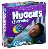 Huggies Overnites Diapers Size 6