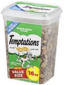 Whiskas Temptations Value Size Seafood Medley -16oz
