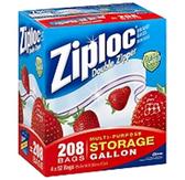 Ziploc Double Zipper Storage Gallon