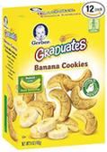 Gerber Graduates Banana Cookies-5 oz