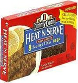 Jimmy Dean Heat n' Serve Sausage Regular - 8 Links