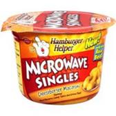 Betty Crocker Hamburger Cheeseburger Microwave Singles  Meal-5.5