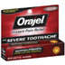 Orajel Instant Pain Relief For Severe Toothache Maximum Strength