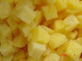 Central Market Organics Frozen Pineapple Chuncks 10 Oz