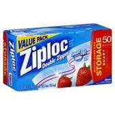 Ziploc Bags Food Storage Quart - 25 Count