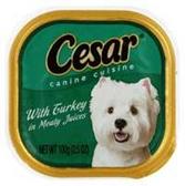 Cesar Turkey Dog Food - 3.5 Oz