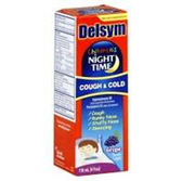 Delsym Childrens Night Time Cough and Cold - 4 Fl. Oz.