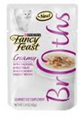 Fancy Feast Classic Broths Creamy Mackerel & Veggfies -1.4oz