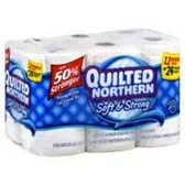 Quilted Northern Soft And Strong Bath Tissue - 12 Roll