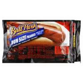 Ball Park Franks Bun Size