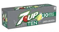 7up Ten Calories -12pk