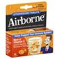 Airborne Immune Support Supplement Zesty Orange Effervescent Tab