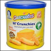 Gerber Graduates Lil Crunchies Cheddar -1.48oz