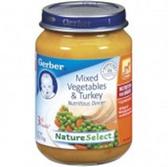 Gerber  Baby 3rd Food Mixed Vegetables & Turkey