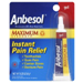 Anbesol Maximum Strength Instant Pain Relief Gel, 0.33 OZ