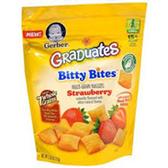 Gerber Graduates Toddler Bites Strawberry-2.5 oz
