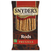 Snyder's of Handover Rods Pretzels -10 oz