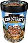 Ben & Jerry's - Chocolate Chip Cookie Dough -16oz