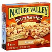 Nature Valley Peanut Sweet And Salty Nut Granola Bars -6 pk