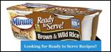 Minute Rice - Brown & Wild Rice -4.4oz