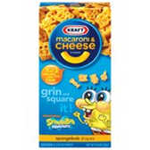 Kraft Macaroni & Cheese SpongeBob Square Pants Dinner- 5.5 oz
