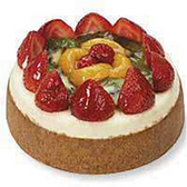 Assorted Fruit Top Cheesecake