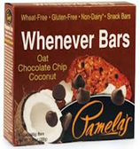 Pamela's Whenever Bars - Oat Chocolate Chip Coconut -5 Bars