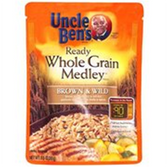Uncle Ben's Ready Rice (Just Microwave) - Whole Grain Brown Rice