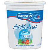 Dannion Plain All Natural Low Fat Yogurt