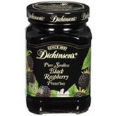 Dickinson's Preserves Pure Seedless Black Raspberry -10 oz