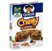 Quaker Chewy S'mores Granola Bar -10 pk