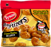 Tyson Anytizers ChickenBreast Chunch w/Spicy Sweet &SourSauce-25