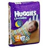 Huggies Overnites Diapers Size 4