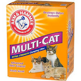 Arm & Hammar Multi-Cat Clumping Extra Strength  litter -20LB