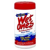 Wet Ones Antibacterial Moist Wipes - 40 Count